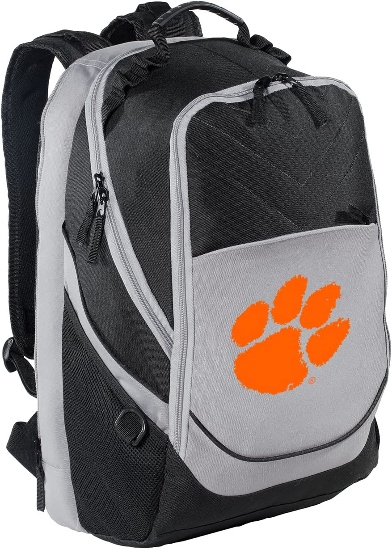 Clemson University Sales for sale Backpack Max 52% OFF Tigers Bag Computer Laptop