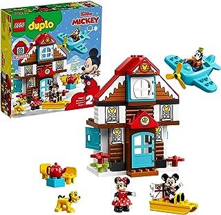 レゴ(LEGO) デュプロ ミッキーとミニーのホリデーハウス 10889 ブロック おもちゃ 女の子