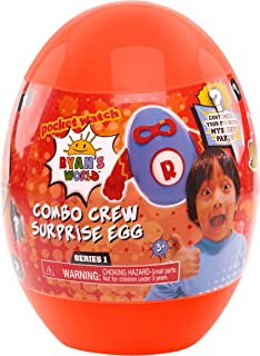 RYAN'S WORLD Surprise Squeezies Egg (Colors & Styles May Vary)