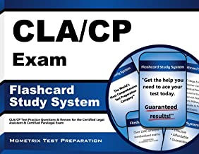 CLA/CP Exam Flashcard Study System: CLA/CP Test Practice Questions & Review for the Certified Legal Assistant & Certified Paralegal Exam