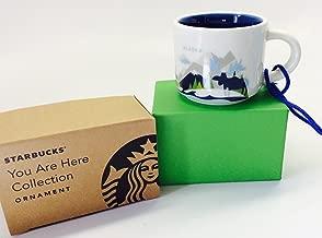 Starbucks Alaska You Are Here Ornament Rare 2oz Cup