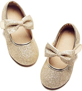Amazon.com: Gold - Shoes / Girls