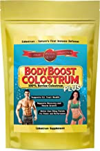 Colostrum Bovine 16oz Powder 1 Best Value on Amazon 50percentage DISCOUNT TODAY 100 Percent Whole Nothing Added Collected 1st Milking Only Maximum Biological Activity Contains Natural Occurring Probiotics High Ig  Packaging my vary