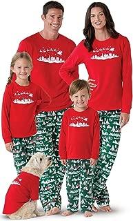 Matching Christmas Pajamas for Family - Night Before Xmas, Red