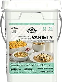 Augason Farms Variety Breakfast & Dinner Emergency Food Supply