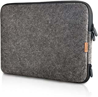 "Procase 13-13.5 Inch Felt Laptop Sleeve Case Bag for MacBook Pro Air, Surface Book 3 13.5"" and Most 12"" 13"" Dell HP Acer A..."