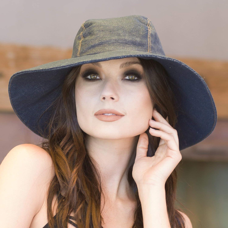 At Max 41% OFF the price Denim Sun Hat
