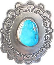 Tommy Jackson Morenci Turquoise Sterling Ring Size 8 Signed