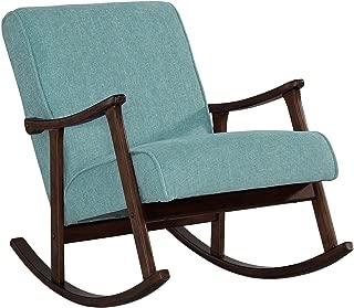 Best retro indigo wooden rocking chair Reviews