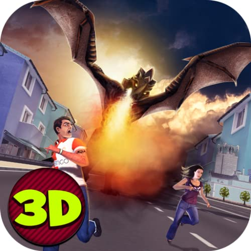 Mighty Dragon City Rampage 3D - 2