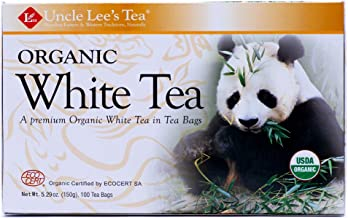 Legends of China Organic White Tea 100 Bags (Pack of 2)