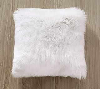 ZCZUOX Funda de cojín de sofá, Faux Fur Throw Funda de cojín Deluxe Home Decorativo Cuadrados y Suaves Cojines PeloPara la Hogar Sofá Cama del Coche 18