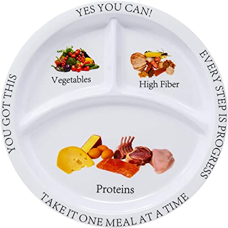 Bariatric Portion Control Plate (2 Pack)