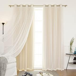 Best 4 piece curtains Reviews