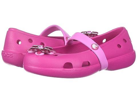 2ddc34ff1 Crocs Kids Keeley Springtime Flat (Toddler Little Kid) at 6pm