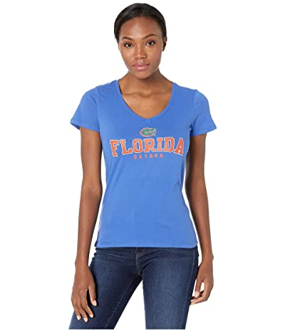 Champion College Florida Gators University V-Neck Tee (Royal 2) Women