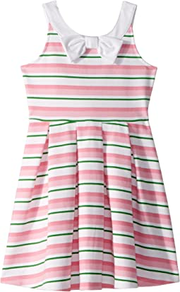 Janie and Jack Bow Fit and Flare Dress (Toddler/Little Kids/Big Kids)