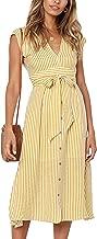 Best striped tie front dress Reviews