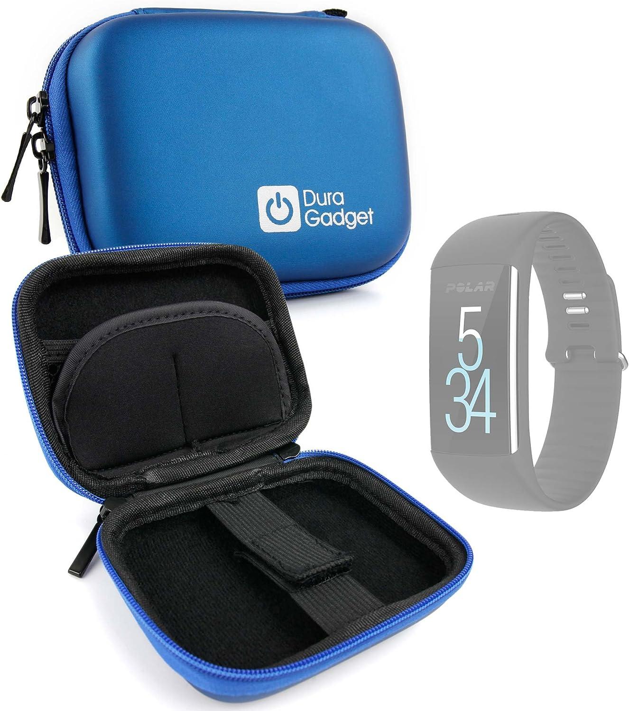 DURAGADGET Estuche Rígido para Smartwatch Diggro DI03 / Diggro DI02 / Diggro GV68 / Polar M200 / Polar M430 - Azul