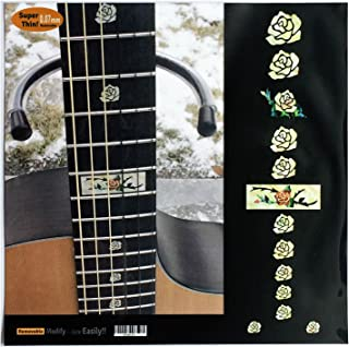 Fretboard Markers Inlay Sticker Decals for Guitar and Bass - Rose