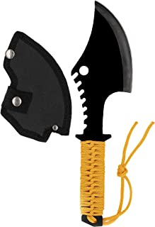 Acme Approved Throwing/Survival Camping Axe with Orange Paracord Handle - 12 Inches Overall