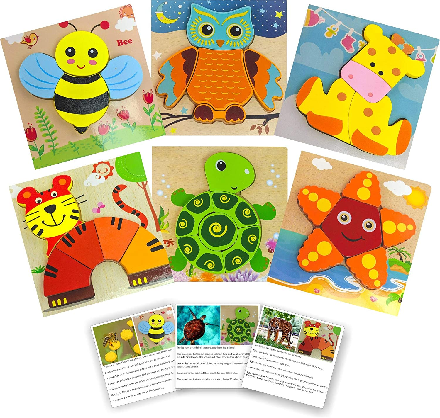 Wooden Jigsaw Puzzles for Toddlers with CUT Fact by Ranking TOP7 Indianapolis Mall Cards Animal