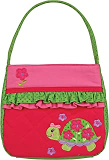 Stephen Joseph Quilted Duffle, Lime Green Turtle, One Size