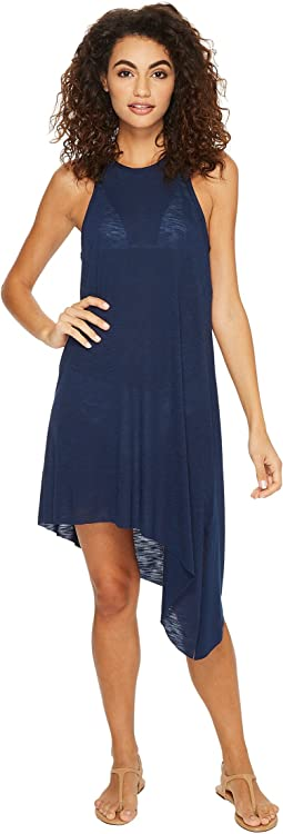 BECCA by Rebecca Virtue Breezy Basics Keyhole Dress Cover-Up