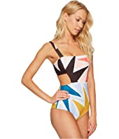 Mara Hoffman - Superstar Cut Out Side One-Piece