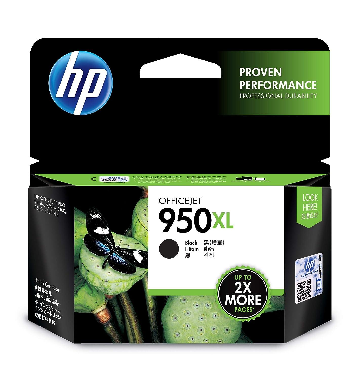 HP 950XL Office Jet Ink Cartridge  Black  Ink Cartridges