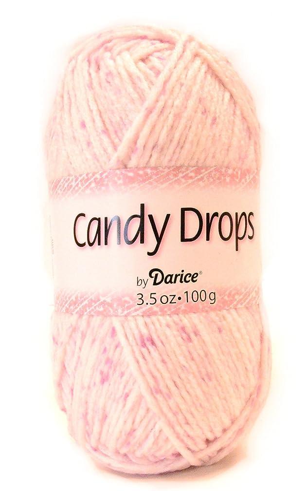 Darice 4448-06 201-Yard Weaving Yarn, 3.5-Ounce, Candy Drops Raspberry
