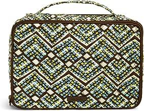 Vera Bradley Iconic Large Blush & Brush Case, Signature Cotton