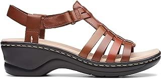 Clarks Women's Lexi Bridge Leather Fashion Sandals