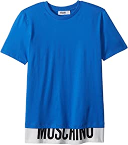 Short Sleeve T-Shirt w/ Logo Hem (Big Kids)