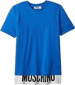 Short Sleeve T-Shirt w/ Logo Hem (Big Kids)