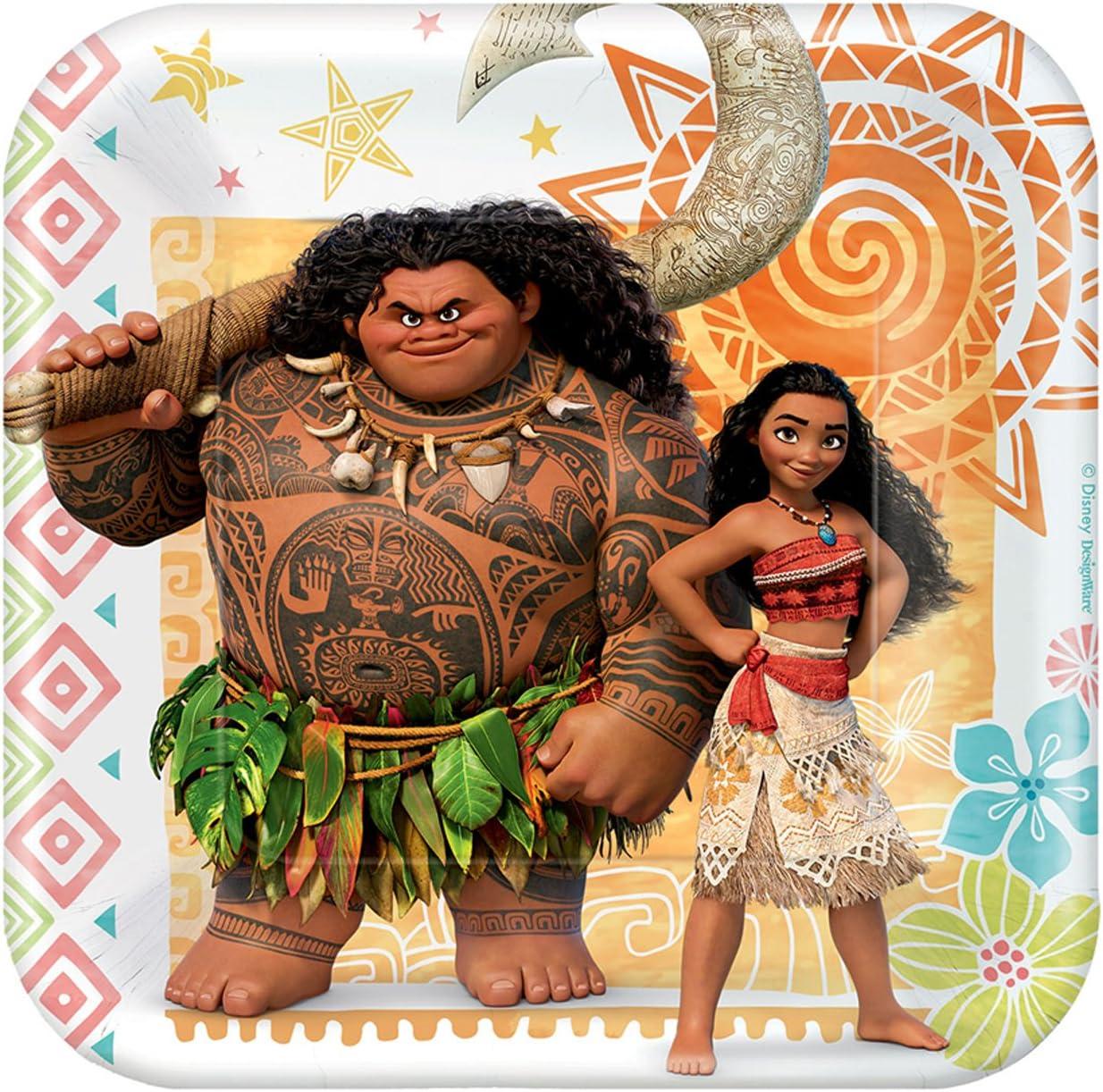 Disney Moana Party Supplies - Paper Dessert sale Plate online shopping 48
