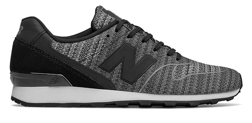 だらしない幸運種類(ニューバランス) New Balance 靴?シューズ レディースライフスタイル 696 Re-Engineered Black with Cyclone ブラック サイクロン US 9.5 (26.5cm)