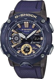 Men's Casio G-Shock Carbon Core Guard Navy Resin Band Watch GA2000-2A
