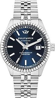 Philip Watch - Reloj Analógico para Hombre de Automático con Correa en Acero Inoxidable R8223597011