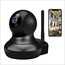 Dog Camera,TSW 1080P HD Wireless IP Camera with Night Vision/2-Way Audio, Pan/Tilt WiFi Indoor Home Dome Pet Baby Nanny Ca...