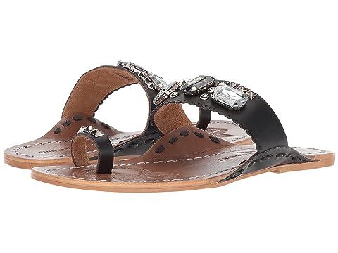 Laundry Chinese LeatherWhite Leather LeatherTan Black Sandal Jada AxRq0wRUcd