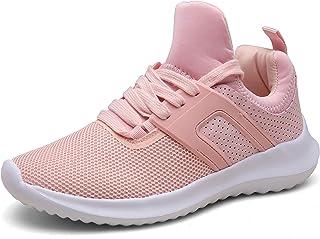 DENGBOSN Basket Homme Femme Chaussures de Course Running Sport Léger Fitness Sneaker