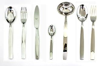 Mepra 100422051 Set, [51 Piece, Stainless Steel Finish, Dishwasher Safe Cutlery