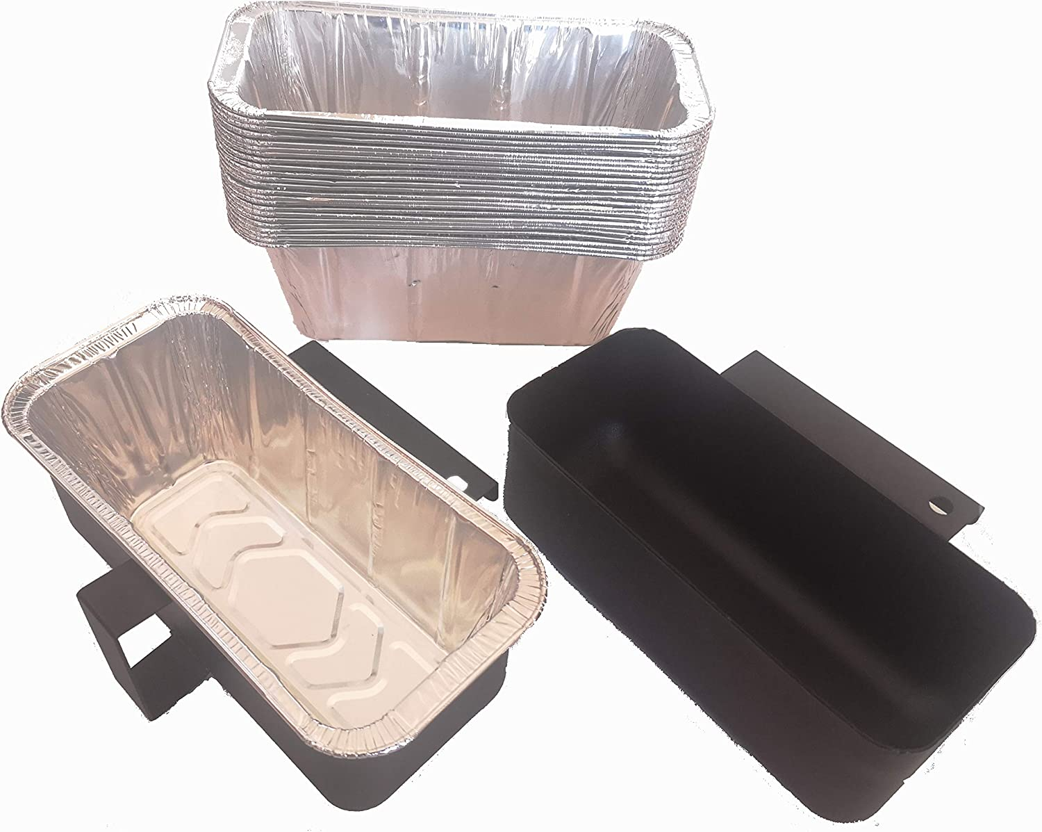 Firsgrill Foil Tray Grease Cup Liners for Blackstone Grills 20