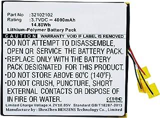 Synergy Digital Synergy Digital Battery Compatible HP Slate 7 Extreme Tablet Battery (Li-Pol, 3.7V, 4000 mAh) - Repl. HP 3...