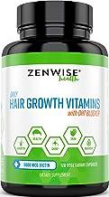 Hair Growth Vitamins Supplement – 5000 mcg Biotin & DHT Blocker Hair Loss..