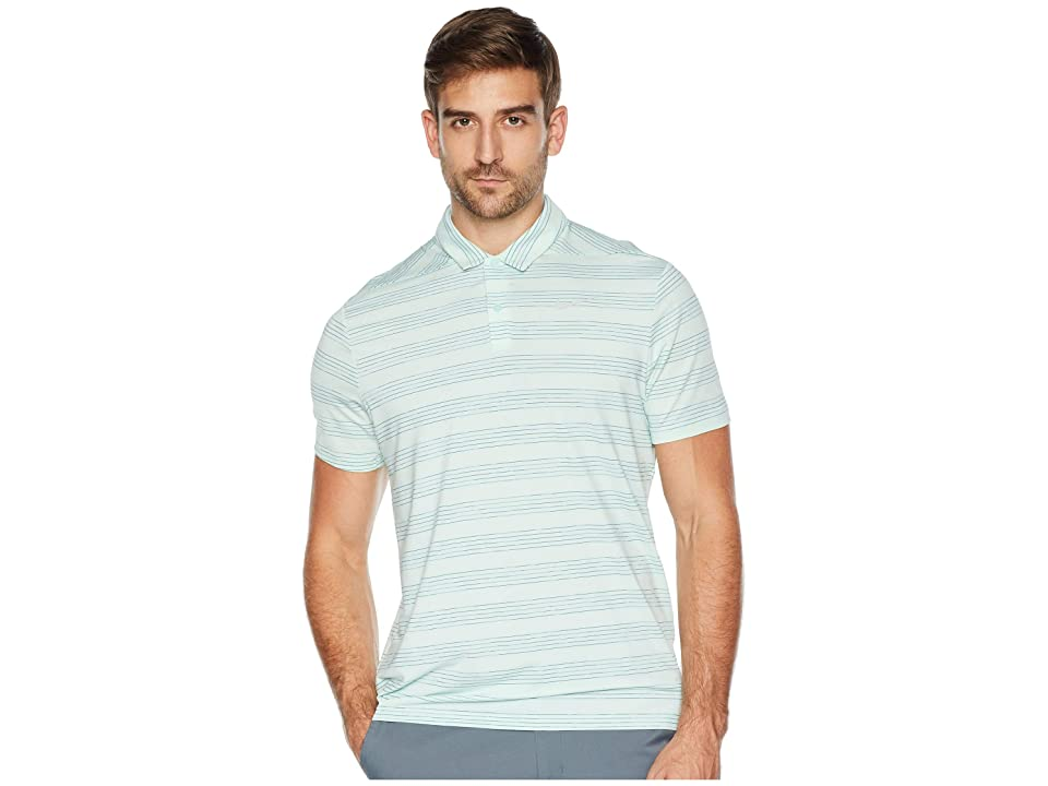 Nike Golf Dry Polo Heather Textured (Igloo/White/Midnight Spruce/Flat Silver) Men