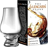 (One) - Glencairn Whisky Glass Nosing Tasting Whiskey 1 2 4 6 8 Made in Scotland