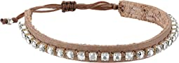 Chan Luu - Leather Adjustable Bracelet with Semi Precious Stones