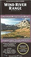 Wind River Range, Wyoming Outdoor Recreation Map